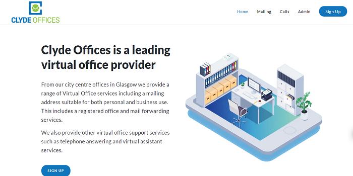 virtual office glasgow